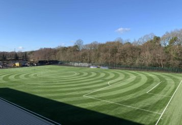 New sports pitch at Sheerwater Leisure Centre